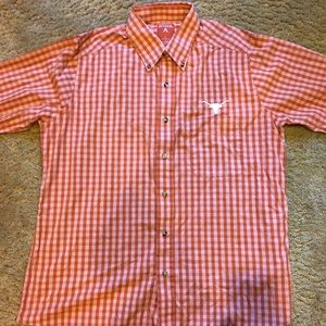 University of Texas Button-Up Size Large